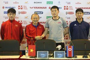 HLV Park Hang-seo nói gì trước trận tuyển Việt Nam - Triều Tiên?