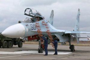Tiêm kích Nga đồng loạt được triển khai tới bán đảo Crimea
