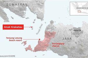 Sóng thần tại Indonesia: Ít nhất 281 người thiệt mạng, hơn 1.000 người bị thương