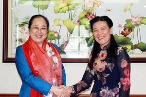 Tăng cường hợp tác về phụ nữ khởi nghiệp, đào tạo và dạy nghề