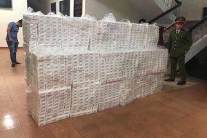 Huế: Phát hiện 15.000 gói thuốc lá nhập lậu