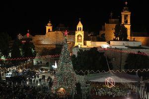 Giáng sinh tại thị trấn Bethlehem- nơi Chúa Jesus ra đời
