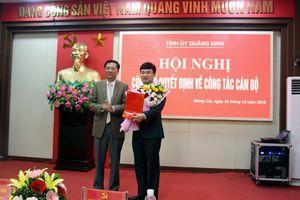 Quảng Ninh công bố quyết định công tác cán bộ của Ban Bí thư Trung ương Đảng