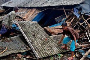 Sóng thần tấn công Indonesia: Con số thiệt hại khủng khiếp