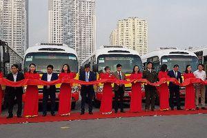 Hà Nội mở thêm bốn tuyến buýt kết nối các vùng ngoại thành
