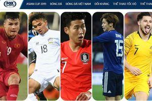 FOX Sports chọn Quang Hải là một trong 5 ngôi sao của Asian Cup 2019