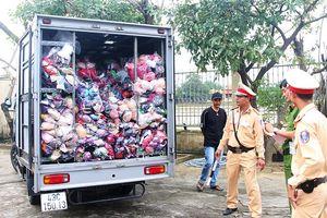 Phát hiện nhiều xe chở hàng không rõ nguồn gốc ở Đà Nẵng