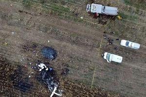 Hiện trường rơi trực thăng khiến vợ chồng nữ thống đốc Mexico tử nạn