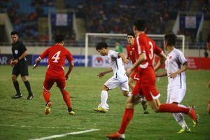 Hình ảnh ấn tượng trong trận giao hữu giữa Việt Nam vs Triều Tiên