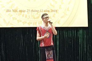 Trao giải cuộc thi sáng tác ca khúc về đề tài dân tộc thiểu số
