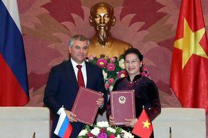 Tăng cường hợp tác nghị viện Việt Nam - Liên bang Nga