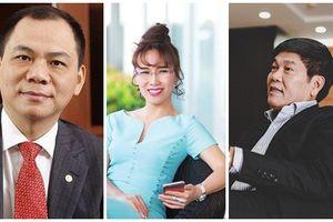 10 đại gia nào đang giàu nhất sàn chứng khoán Việt?