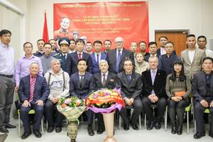 Kỷ niệm 74 năm Ngày thành lập Quân đội Nhân dân Việt Nam tại Ekaterinburg, Nga