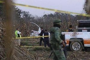 Mexico: Rơi trực thăng, vợ chồng nữ thống đốc bang Puebla thiệt mạng