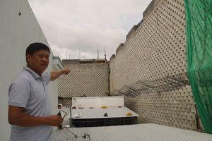 Đình chỉ dự án xây dựng tường thành treo trên đầu dân