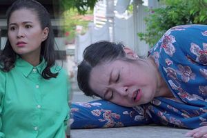 'Gạo nếp gạo tẻ' tập 101: Hồng Vân bị người tình con rể xô ngã bất tỉnh khi đến đòi cháu