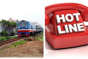 Cục Đường sắt Việt Nam chính thức công bố đường dây nóng trực 24/24h dịp Tết