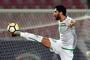 Iraq đánh bại Trung Quốc, đội số 1 châu Á Iran rơi chiến thắng