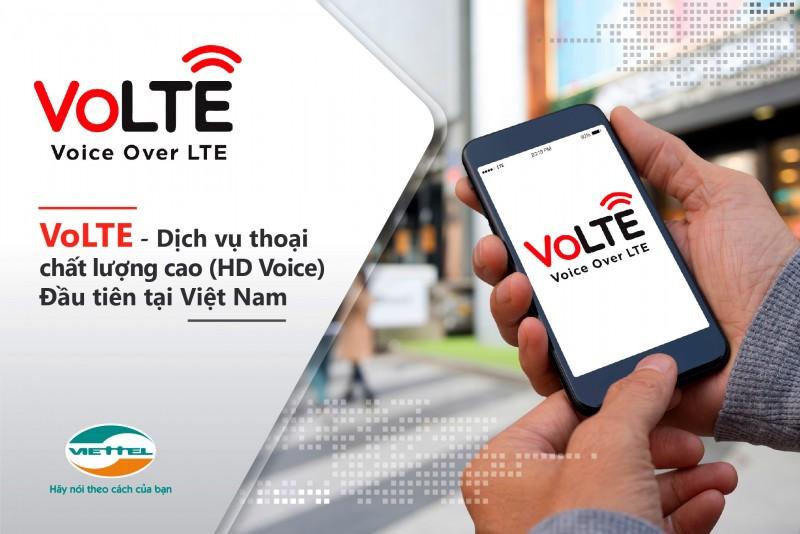 Viettel cung cấp dịch vụ thoại chất lượng cao (Volte) đầu tiên tại Việt Nam