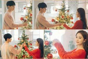 'Touch Your Heart': Lộ ảnh Giáng Sinh lãng mạn của Lee Dong Wook và Yoo In Na