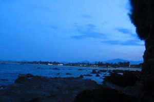 Tắm biển với vợ ở Quảng Nam, chồng bị sóng cuốn trôi về Bình Định
