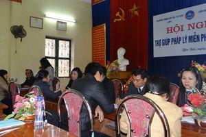 Hà Nội: Tăng cường hỗ trợ, giúp đỡ người nghèo tiếp cận pháp luật