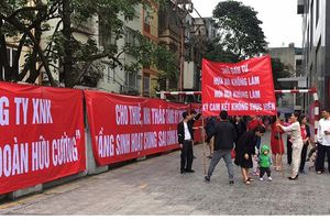140 hộ dân 4 năm chờ 'sổ đỏ' do CĐT tự bán quỹ nhà tái định cư