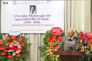 Kỷ niệm 100 năm ngày sinh họa sĩ Nguyễn Sỹ Ngọc