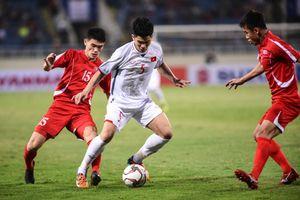 Trực tiếp Việt Nam vs CHDCND Triều Tiên: Bùi Tiến Dũng thủng lưới, Việt Nam 1-1 Triều Tiên