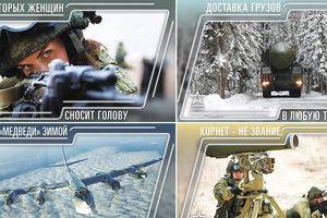Nga tiết lộ 'vũ khí bí mật' trong bộ lịch 2019