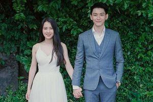 Hot girl Lào gốc Việt rạng rỡ bên chồng điển trai trong ngày cưới