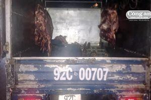 Phát hiện nửa tấn thịt bò không có giấy kiểm dịch