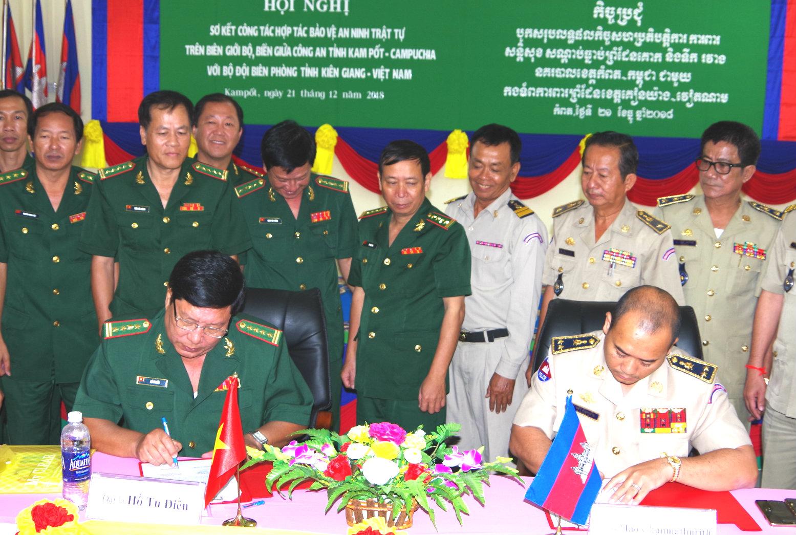 Tổng kết 1 năm phối hợp bảo vệ biên giới, vùng biển