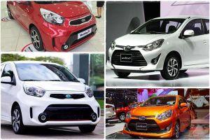 400 triệu đồng, nên mua xe Toyota Wigo 2018 hay Kia Morning?
