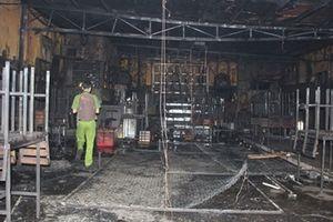 Thêm vụ cháy nổ từ việc hàn xì gây hậu quả đặc biệt nghiêm trọng
