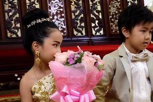 Cặp song sinh 6 tuổi kết hôn vì tin là tình nhân kiếp trước