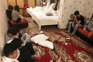 Huế: Phát hiện 18 thanh niên 'chơi' ma túy ở khách sạn
