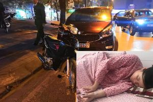 Tài xế ô tô 5 chỗ tông hai thai phụ nhập viện cấp cứu vượt rất nhiều lần nồng độ cồn cho phép