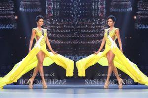 H'Hen Niê lần đầu tái hiện màn xoay váy 'huyền thoại' tại Miss Universe 2018 khiến fan 'dậy sóng'