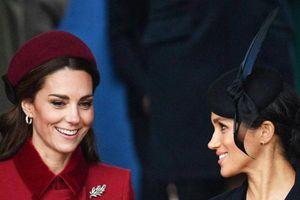 Công nương Kate và Meghan Markle xóa tin đồn mâu thuẫn