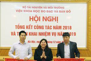 Thứ trưởng Nguyễn Thị Phương Hoa dự Hội nghị tổng kết công tác năm 2018 của Viện Khoa học Đo đạc và Bản đồ