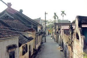Về thăm làng biệt thự cổ hơn 500 năm tuổi ở ngoại thành Hà Nội