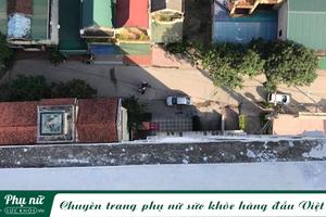 Miếng bê tông rơi từ tầng thượng chung cư trúng đầu bé trai 3 tuổi