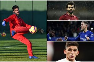 Liverpool áp đảo đội hình hay nhất Premier League kể từ đầu mùa