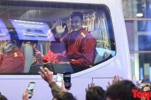 Hôm nay, đội tuyển Việt Nam lên đường sang Qatar tập huấn