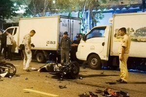 Hai xe máy tông nhau trong đêm, 2 người chết tại chỗ