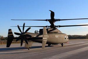 Mỹ công bố ảnh thật máy bay dị thay Black Hawk, Apache