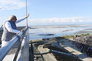 Ấn Độ khánh thành cầu đường sắt dài nhất nước