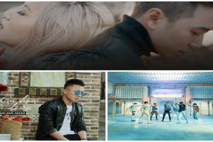Ca sĩ nào có MV đông lượt người xem nhất 2018?
