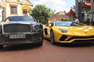 Lamborghini Aventador S và Bentley Mulsanne 100 tỷ ở Hải Dương